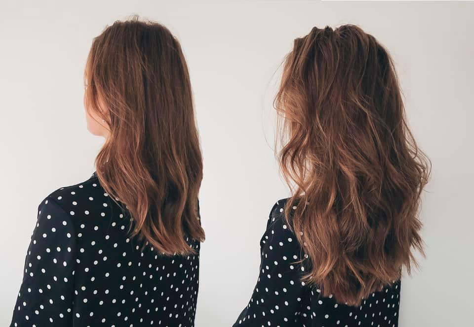 Esmee geel quick in hair