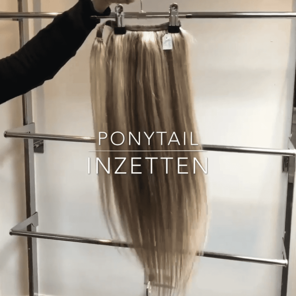 quick in hair ponytail staart extensions